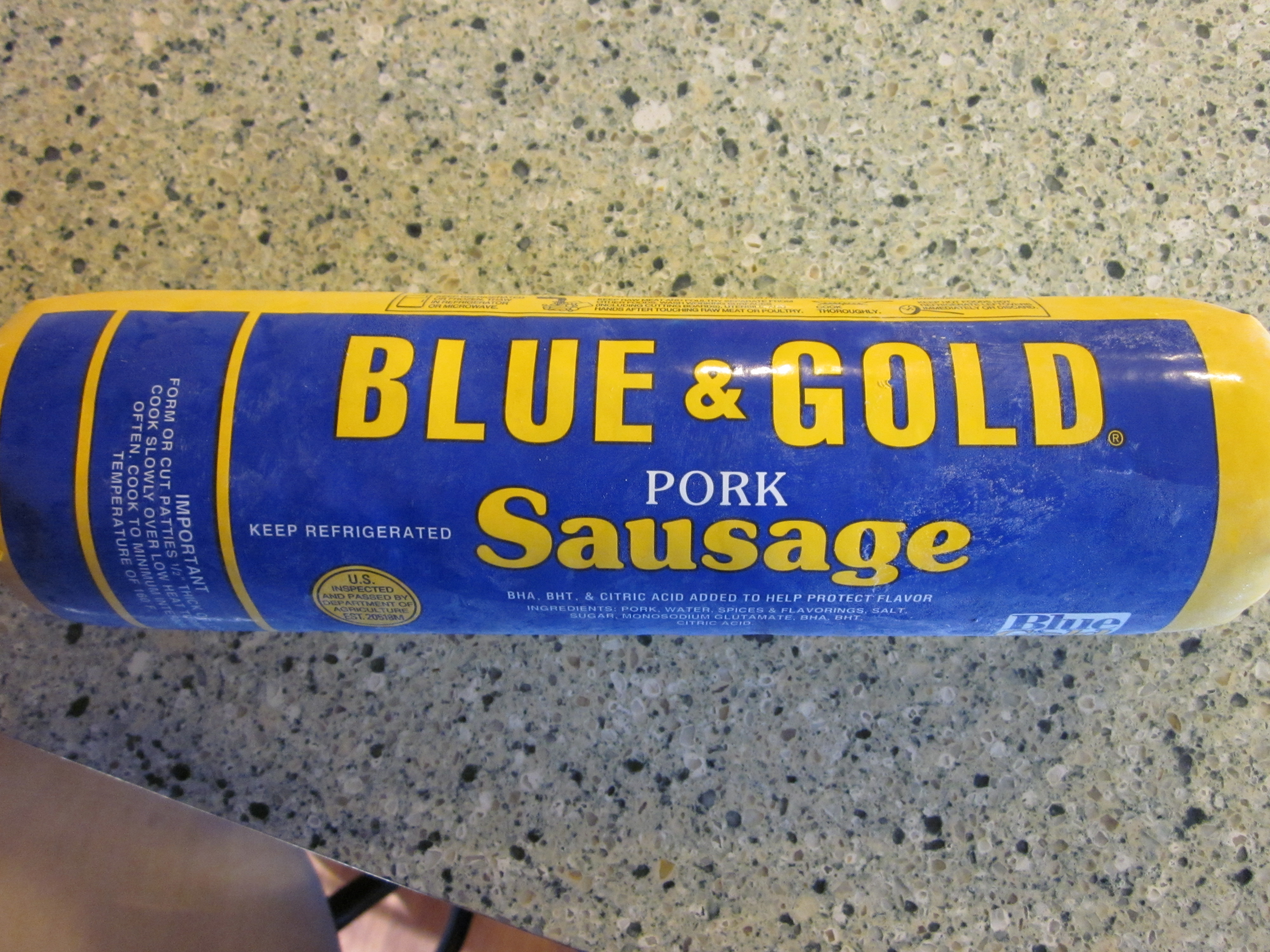 Blue And Gold Sausage 59
